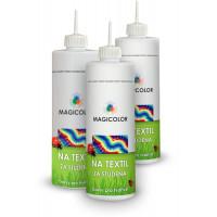 Barva na textil - za studena  SET 3ks